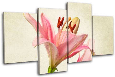 Lily Flowers Floral - 13-1110(00B)-MP04-LO